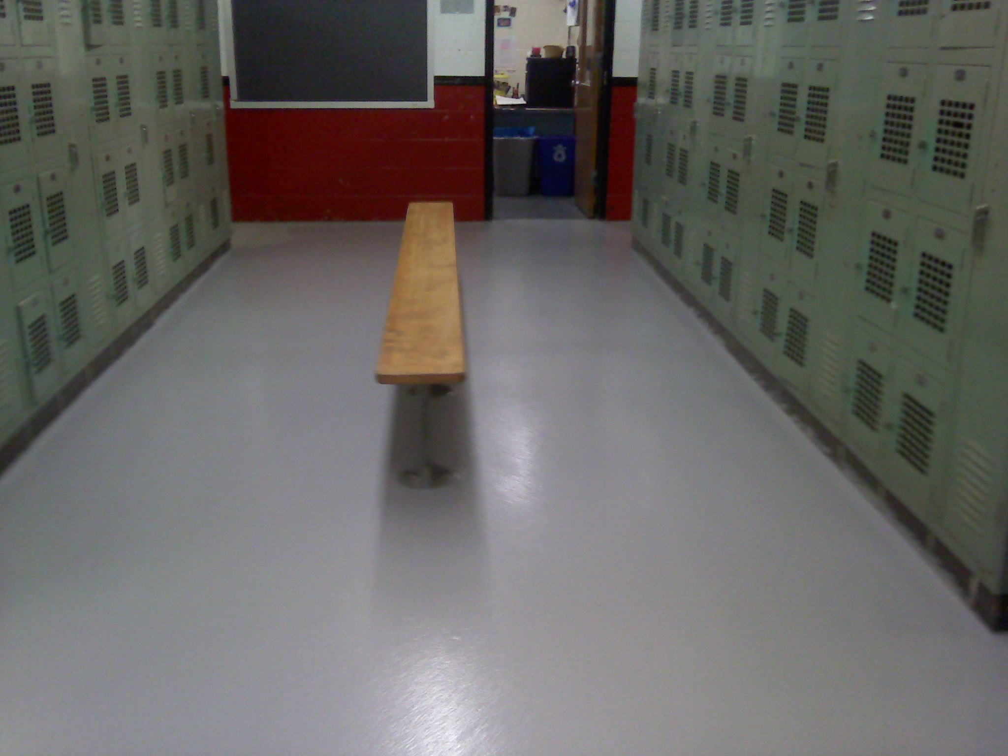 Tmi Repairs School Locker Room Floor Tmi Coatings