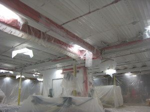 Prep Process for Painting Ceiling in Algona, Iowa
