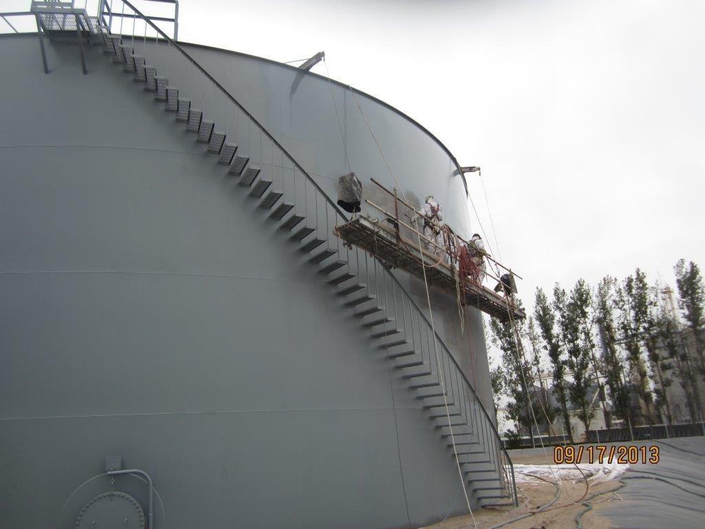 Paint Tank Exterior