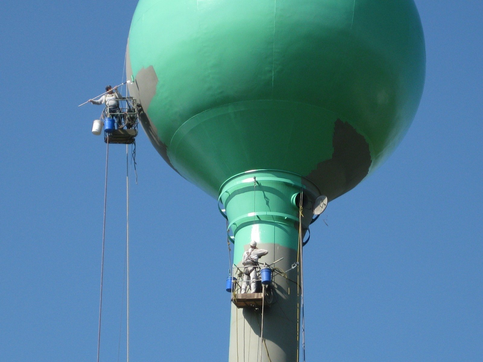 Water Tank Painting : Water tank maintenance projects tmi coatings