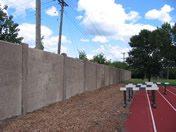 Hamline University Wall Before
