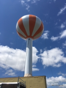 Elevated water tower