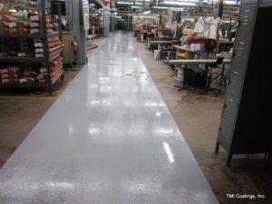 CHEM-RESIST flooring system