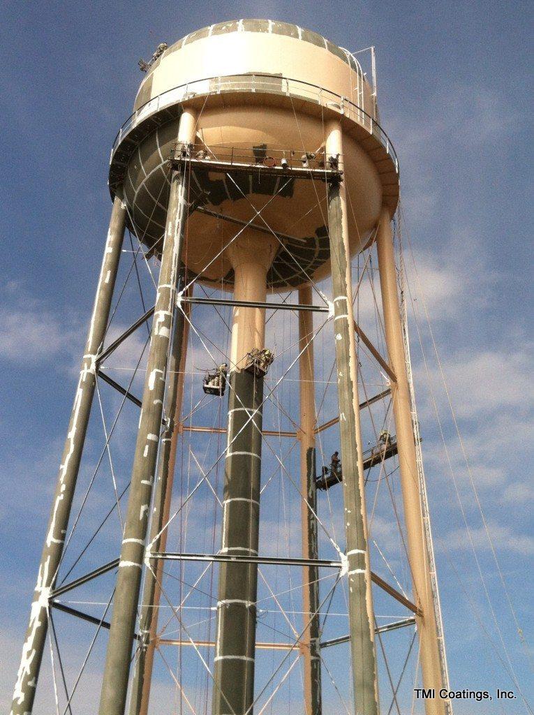 Water Tower Tank : Water tank maintenance tmi coatings